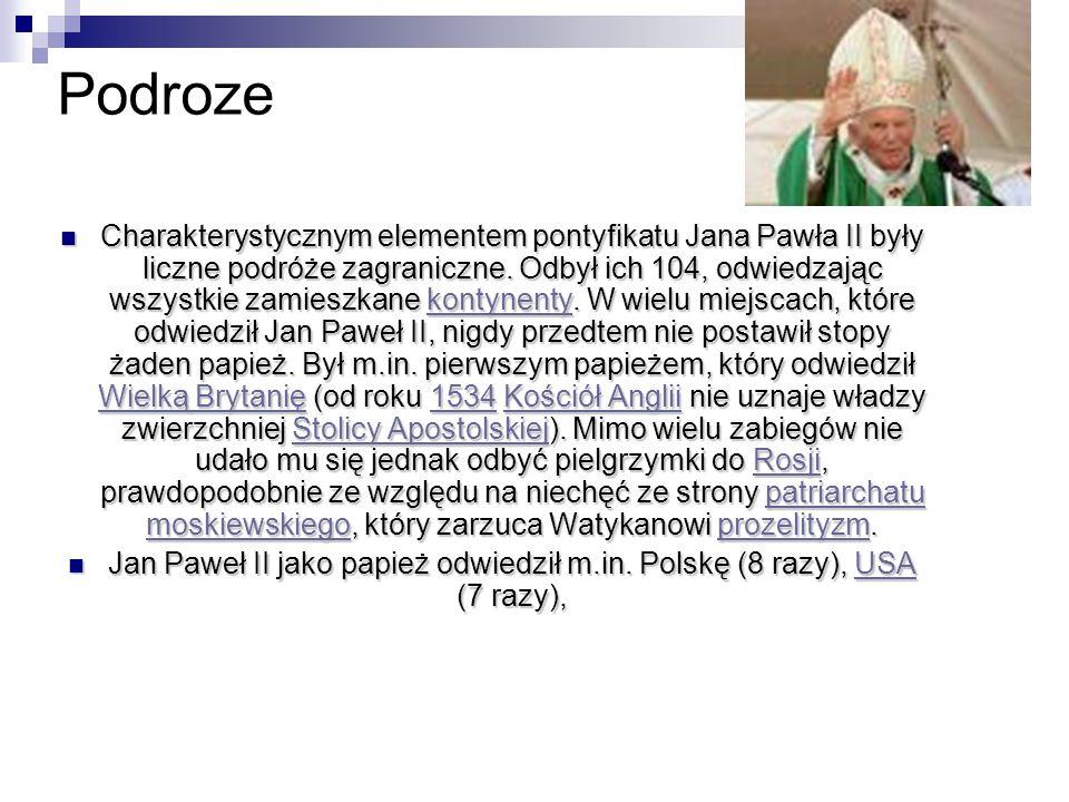 Podróże apostolskie do Polski: Jan Paweł II w parlamencie RP w 1999 I pielgrzymka (2–10 czerwca 1979) I pielgrzymka210 czerwca1979 II pielgrzymka (16–23 czerwca 1983) II pielgrzymka1623 czerwca1983 III pielgrzymka (8–14 czerwca 1987) III pielgrzymka814 czerwca1987 IV pielgrzymka (1–9 czerwca, 13–20 sierpnia 1991) IV pielgrzymka19 czerwca1320 sierpnia1991 V pielgrzymka (22 maja 1995) V pielgrzymka22 maja1995 VI pielgrzymka (31 maja–10 czerwca 1997) VI pielgrzymka31 maja10 czerwca1997 VII pielgrzymka (5–17 czerwca 1999) VII pielgrzymka517 czerwca1999 VIII pielgrzymka (16–19 sierpnia 2002) VIII pielgrzymka1619 sierpnia2002