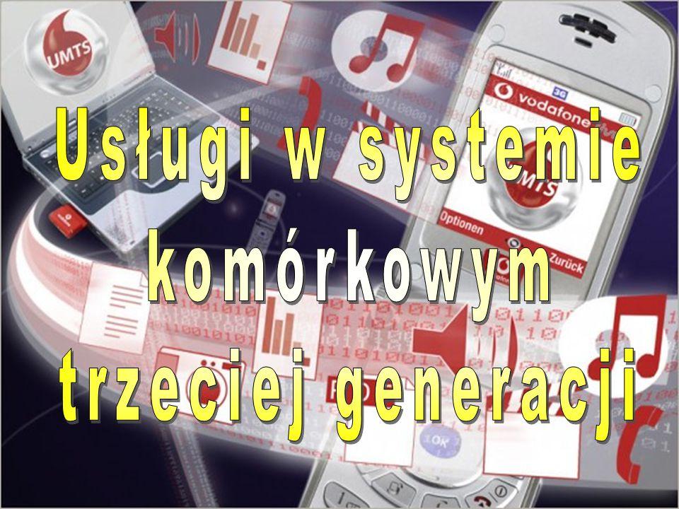Plan prezentacji  Idea systemu komórkowego Idea systemu komórkowego Idea systemu komórkowego  Ewolucja Systemów Komórkowych Ewolucja Systemów Komórkowych Ewolucja Systemów Komórkowych  Systemy analogowe (1G) Systemy analogowe (1G) Systemy analogowe (1G)  Systemy cyfrowe (2G) Systemy cyfrowe (2G) Systemy cyfrowe (2G)  Koncepcja realizacji usług w UMTS (3G) Koncepcja realizacji usług w UMTS (3G) Koncepcja realizacji usług w UMTS (3G)  Środowisko systemu UMTS Środowisko systemu UMTS Środowisko systemu UMTS  Idea realizacji usług w systemie UMTS Idea realizacji usług w systemie UMTS Idea realizacji usług w systemie UMTS  Podział usług w systemie UMTS Podział usług w systemie UMTS Podział usług w systemie UMTS  Przykłady usług w UMTS Przykłady usług w UMTS Przykłady usług w UMTS  Klasy QoS usług Klasy QoS usług Klasy QoS usług  Łańcuch dostawców usług w systemach 3G Łańcuch dostawców usług w systemach 3G Łańcuch dostawców usług w systemach 3G  Podsumowanie Podsumowanie