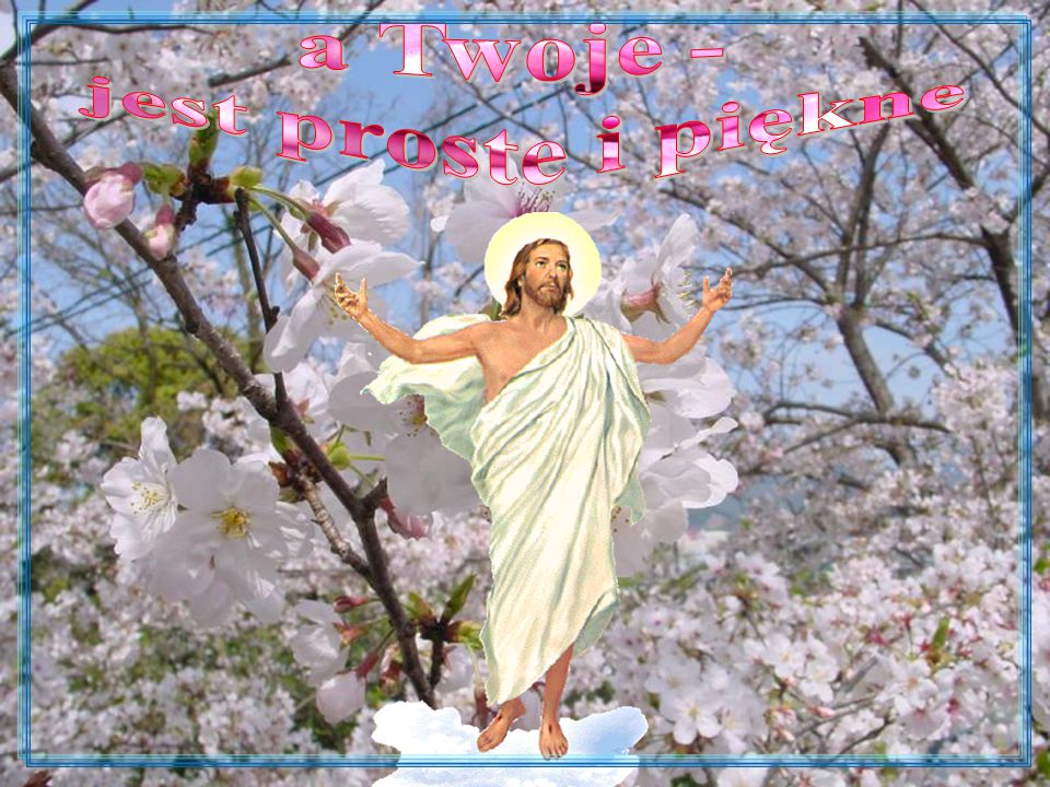 Niech Zmartwychwstanie Pańskie, które niesie odrodzenie duchowe, odrodzi w prawdzie Świat, Polskę, Rządzących, Polityków, Dziennikarzy, Społeczeństwo, napełni wszystkich spokojem i wiarą, da siłę do walki ze złem i kłamstwem, pomoże pokonywać trudności i pozwoli z ufnością patrzeć w przyszłość.