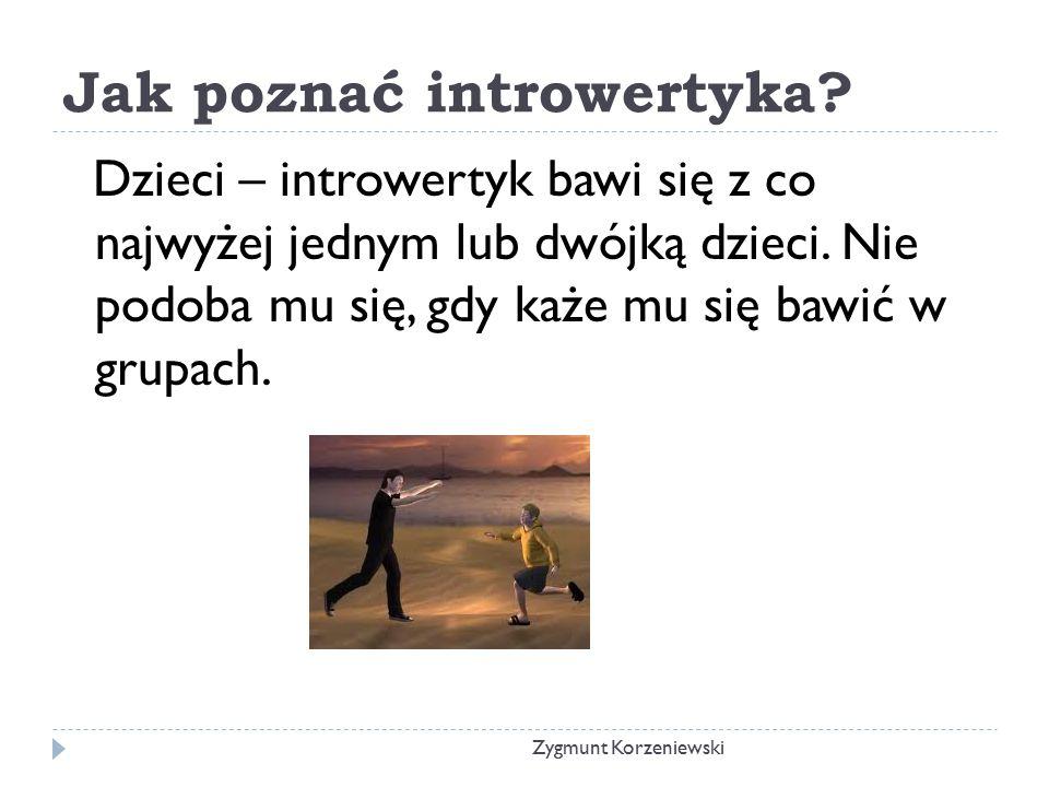 Jak poznać introwertyka.
