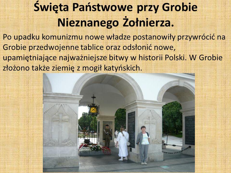 Święta Państwowe przy Grobie Nieznanego Żołnierza.