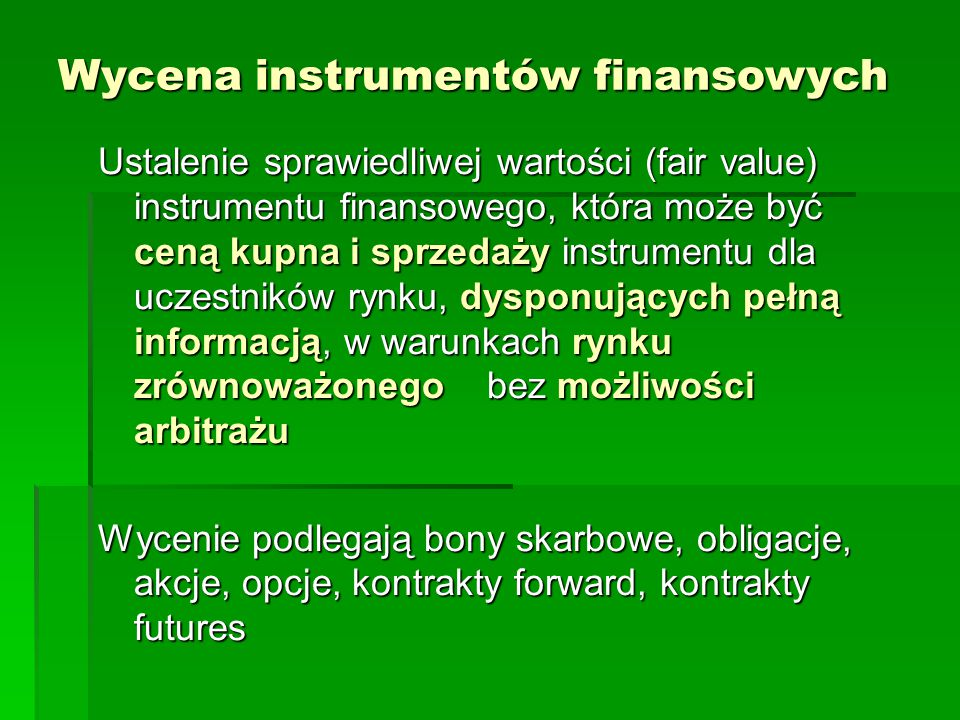 Analiza finansowych szeregów czasowych / cele  wykrywanie natury zjawiska (np.