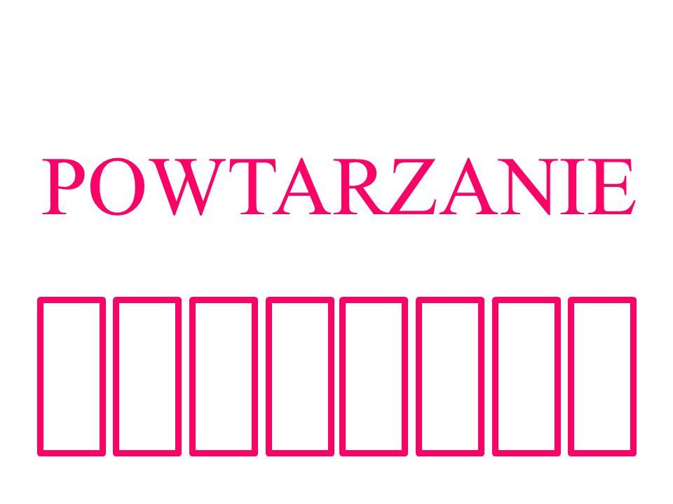 POWTARZANIE