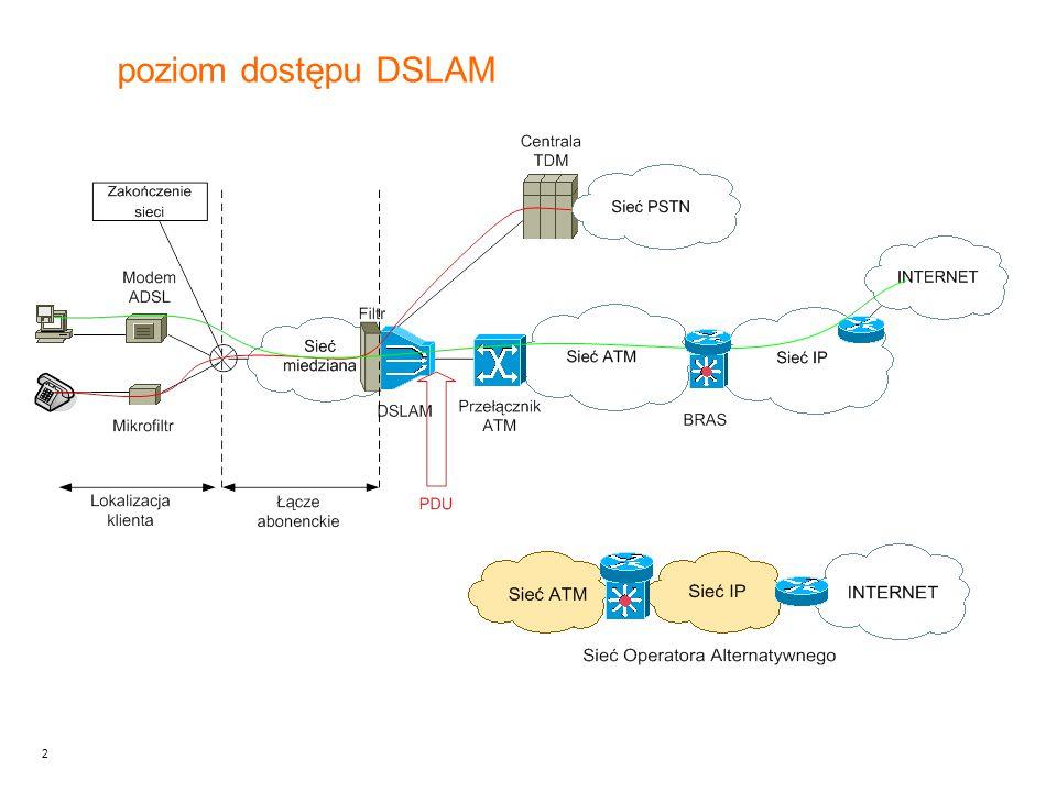 2 poziom dostępu DSLAM