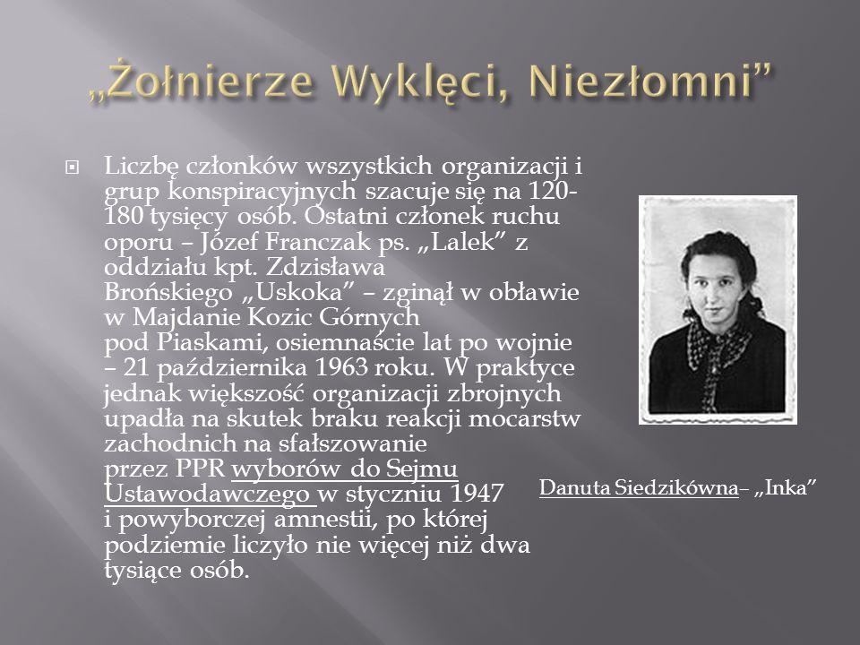 """ Termin """"żołnierze wyklęci upowszechnił Jerzy Śląski."""