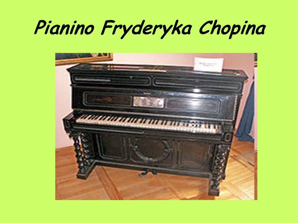 Pianino Fryderyka Chopina