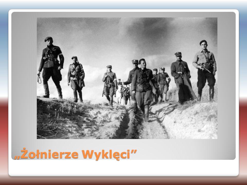 """""""Żołnierze Wyklęci Oskarżony i skazany przez władze komunistyczne Polski Ludowej na karę śmierci, stracony w 1948."""