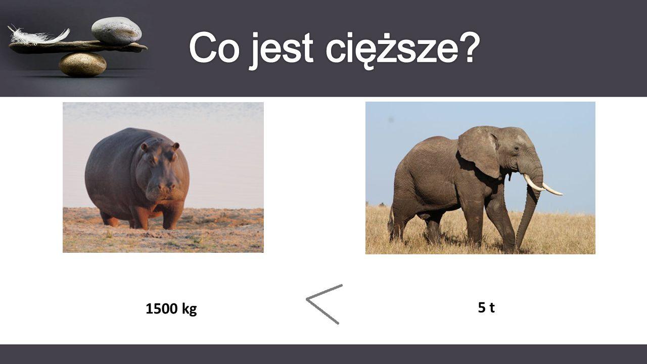 1500 kg 5 t