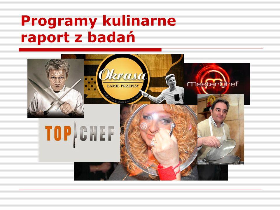 Obserwacja uczestnicząca Zastosowanie metody wiązało się z próbą wejścia w środowisko użytkowników forum kulinarnego w serwisie Wizaz.pl.