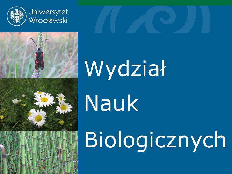 Nauki biologiczne są obecne na Uniwersytecie Wrocławskim od XIX wieku, kiedy to w jego ramach założono Ogród Botaniczny.