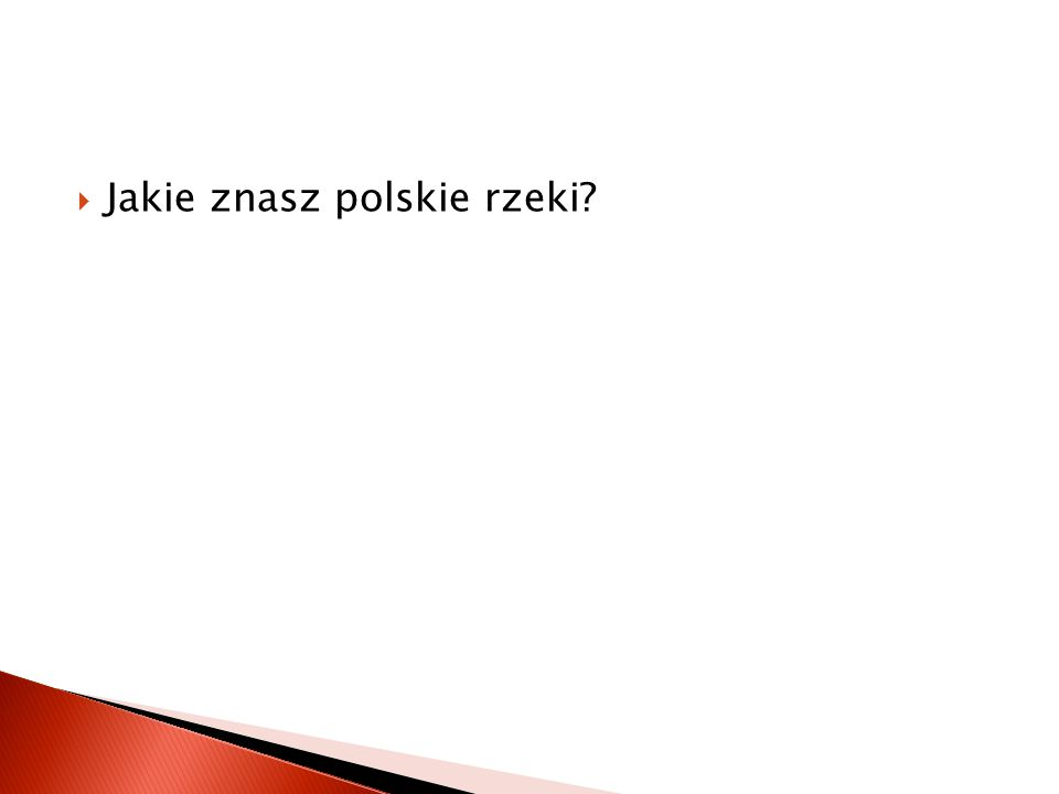  Jakie znasz pasma górskie w Polsce?