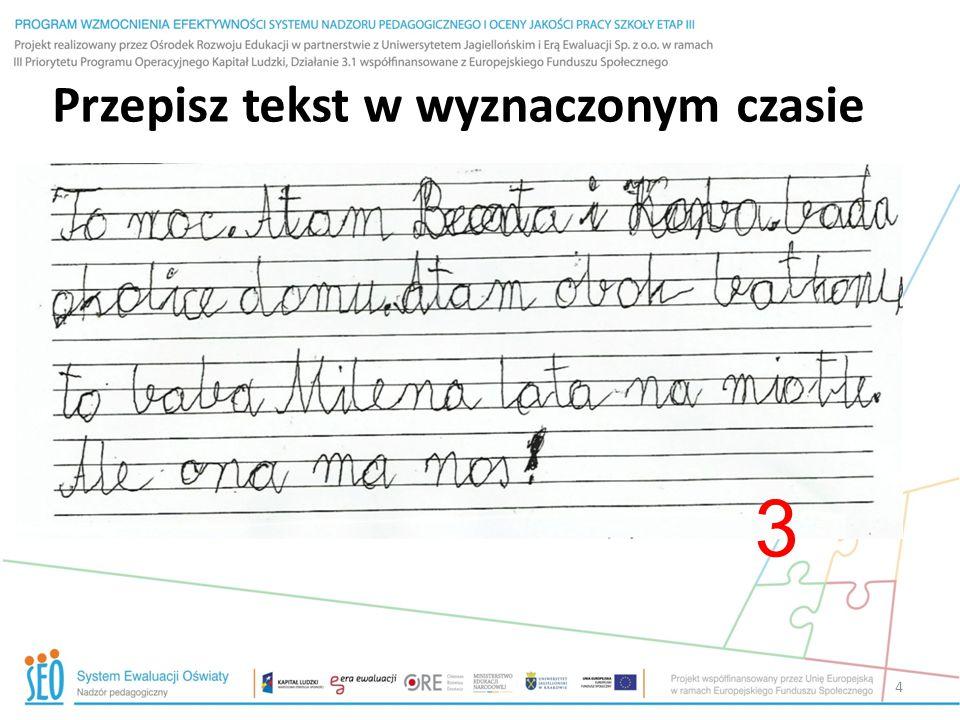 Cele oceniania wewnątrzszkolnego – Ustawa (nowelizacja uchwalona 15 stycznia) 5.