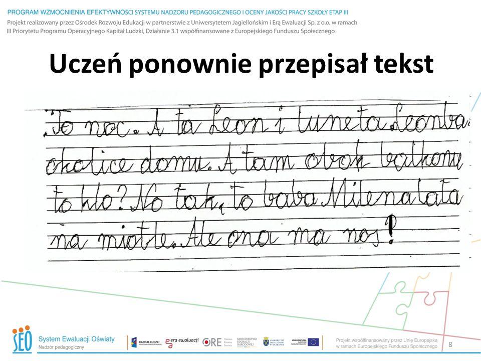 Informacja zwrotna Tomku Jesteś bardzo starannym i zdolnym uczniem.