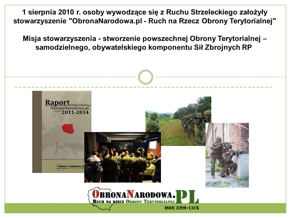 ON.pl w liczbach prawie 1 000 000 osób rocznie odwiedza nasz portal corocznie organizujemy kilkanaście szkoleń ogólnopolskich szkolimy blisko 1 000 ochotników każdego roku opublikowaliśmy ponad 60 artykułów