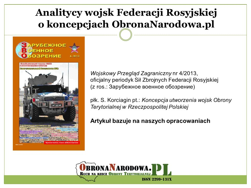 Raport Instytutu Sobieskiego - Organizacje proobronne w systemie bezpieczeństwa państwa.