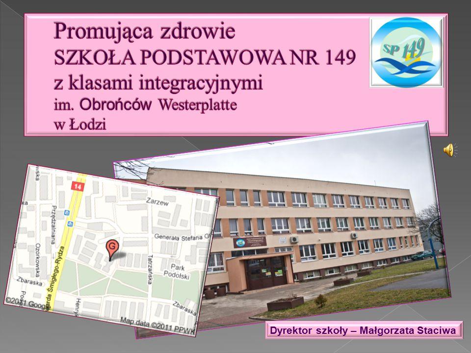 Dyrektor szkoły – Małgorzata Staciwa