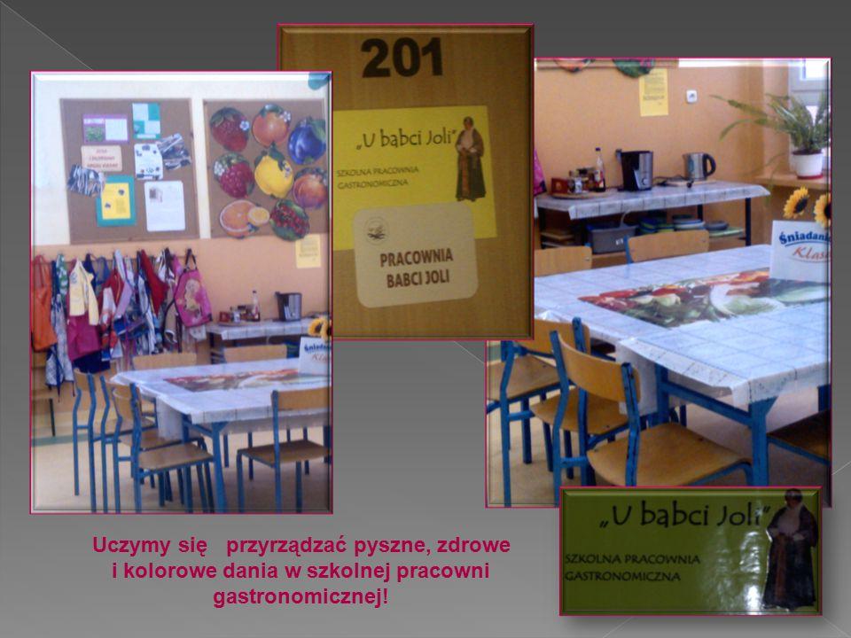 Uczymy się przyrządzać pyszne, zdrowe i kolorowe dania w szkolnej pracowni gastronomicznej!