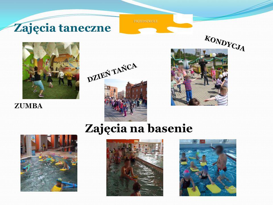 Zajęcia taneczne Zajęcia na basenie ZUMBA DZIEŃ TAŃCA KONDYCJA