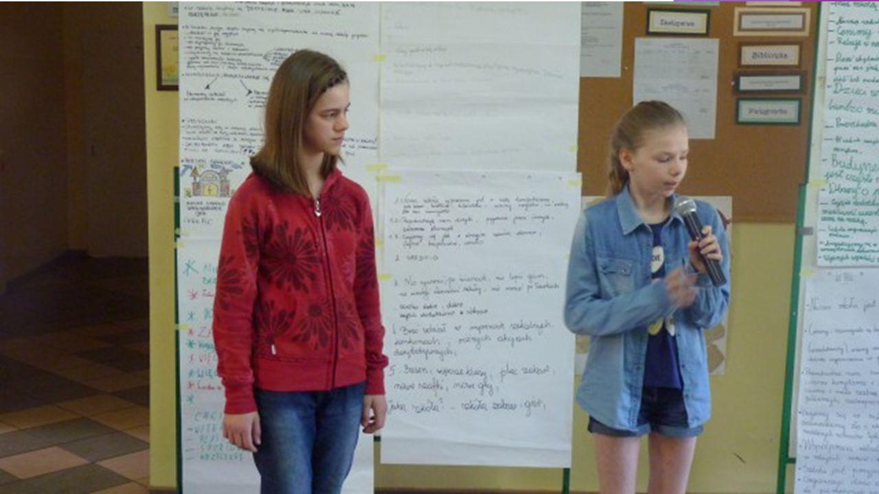Uczniowie klas IV-VI podawali pomysły takie jak: -r-radiowęzeł szkolny -s-sklepik -o-odświeżacze w szatniach przy sali sportowej -p-poidełka -s-stały dyżur pielęgniarki -k-kamery w szatniach -r-rolety w każdej klasie