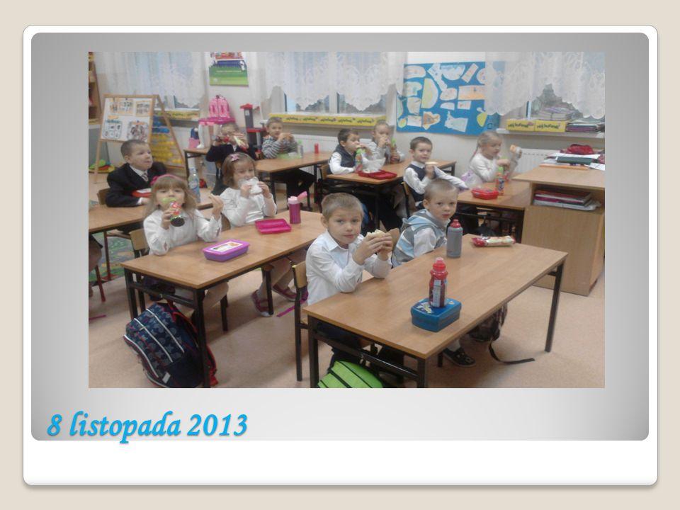 Wspólne posiłki nie są rzadkością Uczniowie klasy pierwszej są wdrażani do wspólnych posiłków z okazji tzw.