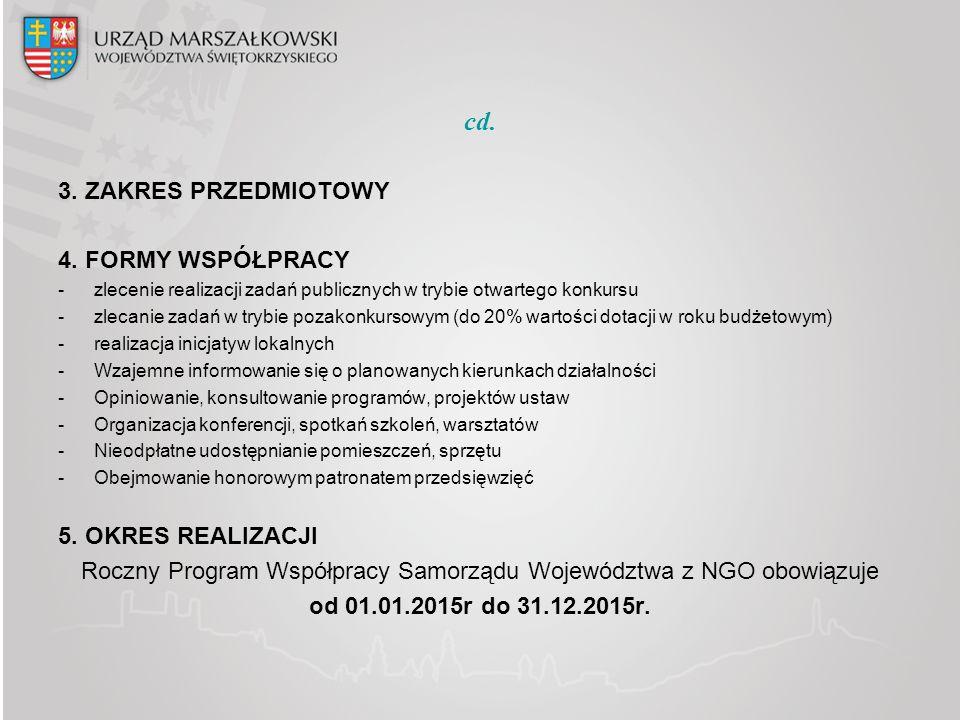 cd.3. ZAKRES PRZEDMIOTOWY 4.