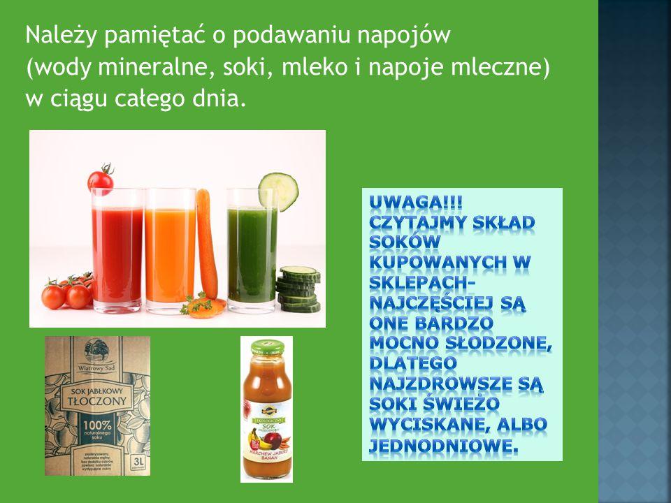 Unikaj produktów zawierających sztuczne barwniki lub konserwanty.