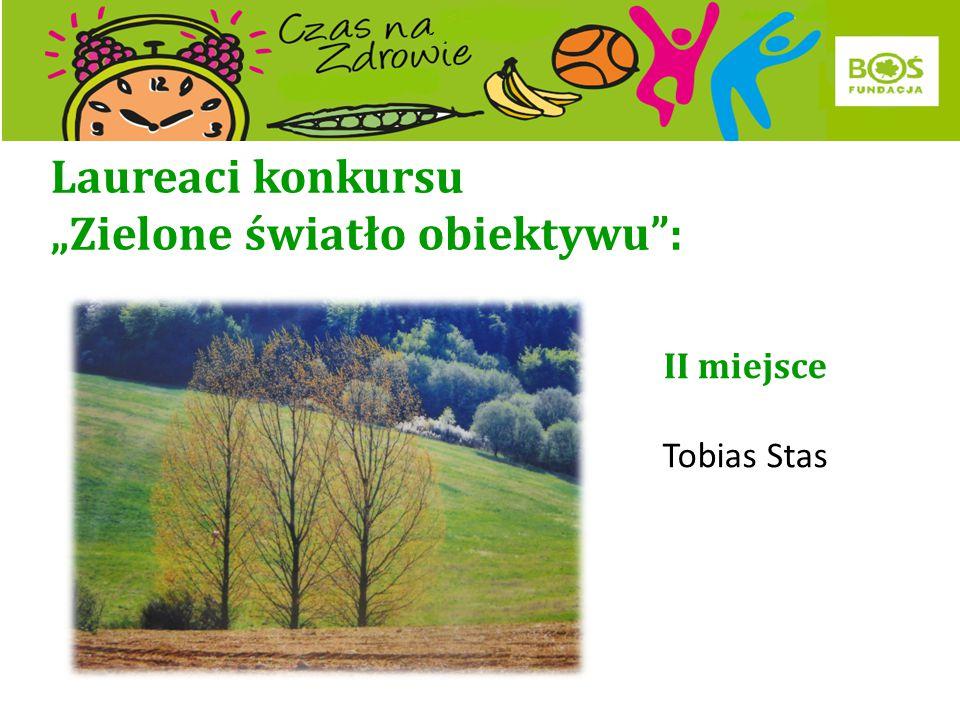 """Laureaci konkursu """"Zielone światło obiektywu"""": I miejsce Timotej Puskas"""