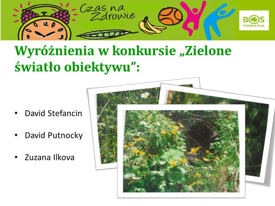 """Laureaci konkursu """"Zielone światło obiektywu : III miejsce Szymon Stanisz"""