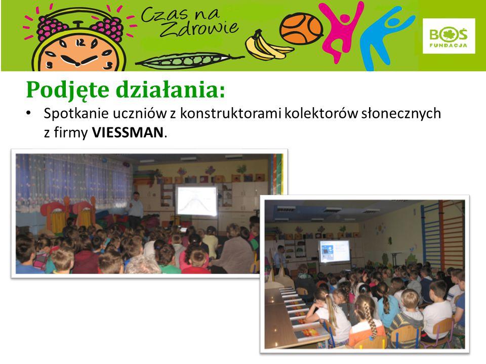 Podjęte działania: Spotkanie klasy VI a z leśniczym w Karpackich Parkach Krajobrazowych.