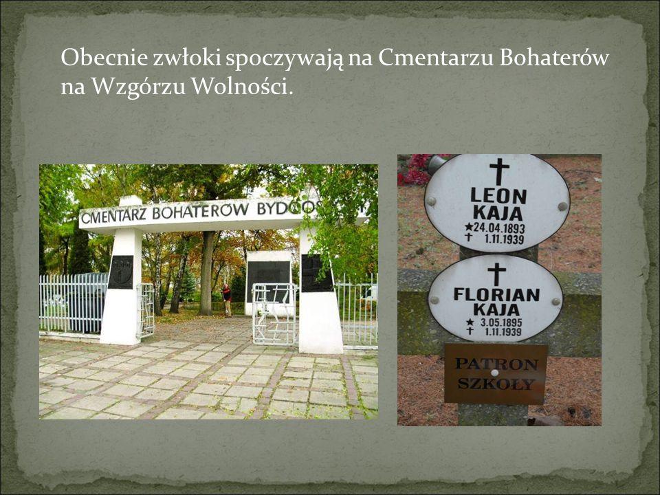 Obecnie zwłoki spoczywają na Cmentarzu Bohaterów na Wzgórzu Wolności.