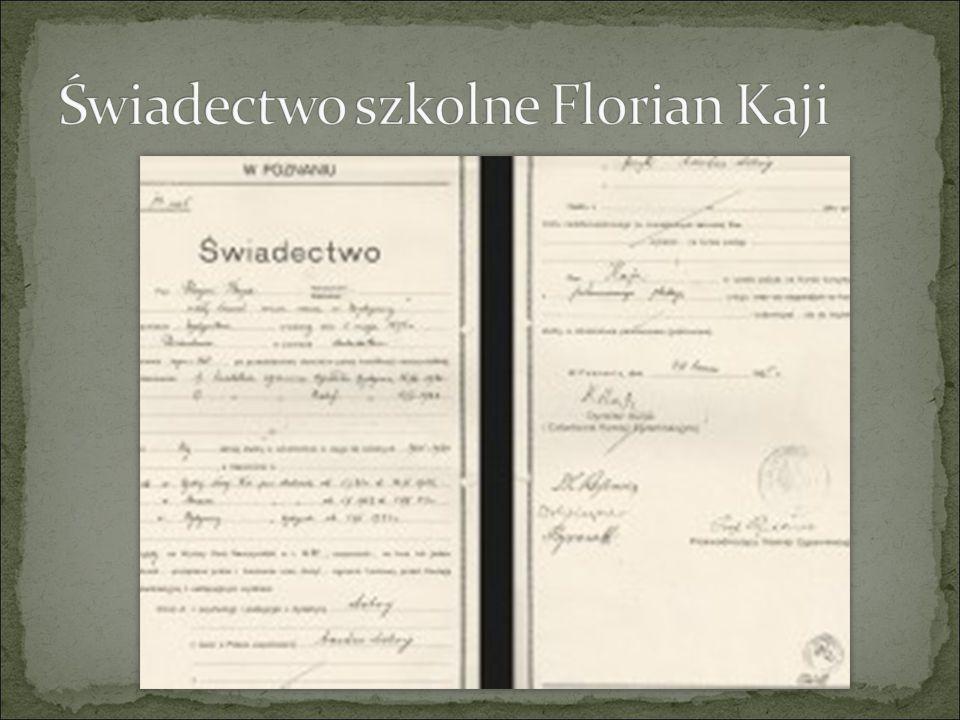 W 1920 roku zdał w Państwowym Seminarium Nauczycielskim egzamin dojrzałości.