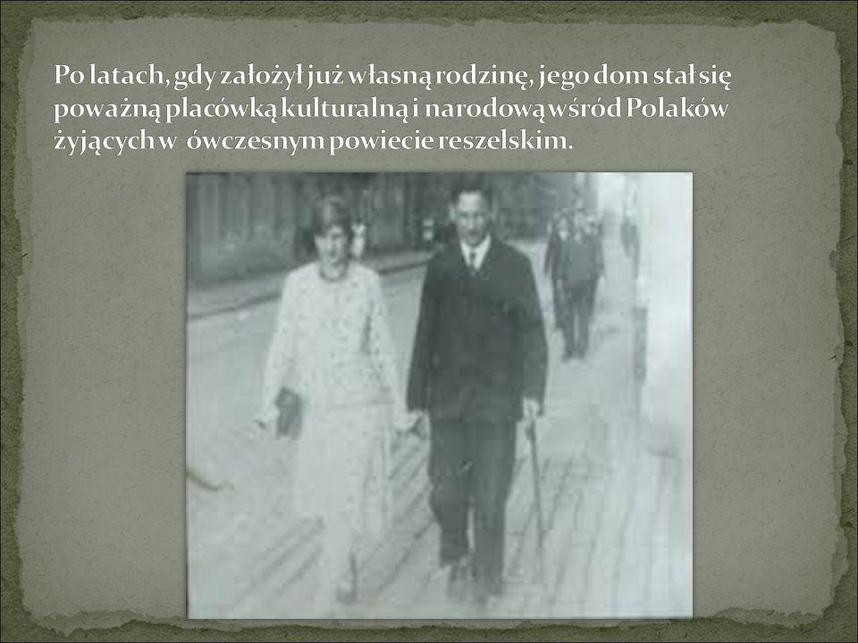 Walczył w pierwszych dniach Powstania Wielkopolskiego w grudniu 1918 roku, po czym przedostał się do Warszawy i wstąpił w szeregi Wojska Polskiego.