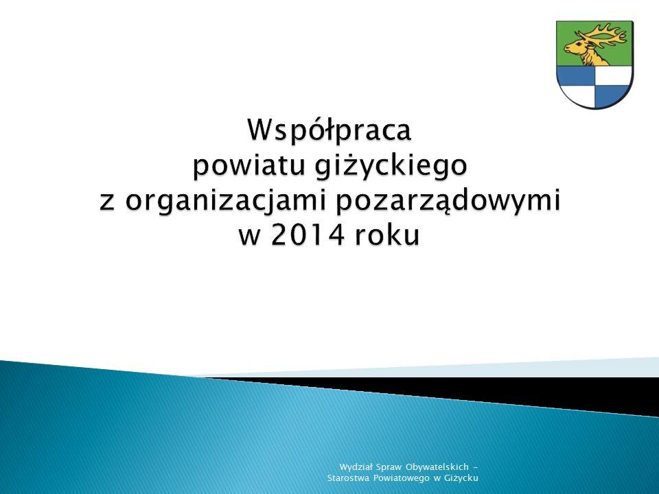  45 organizacji złożyło 57 ofert w otwartym konkursie na realizację zadań w 2014 r.