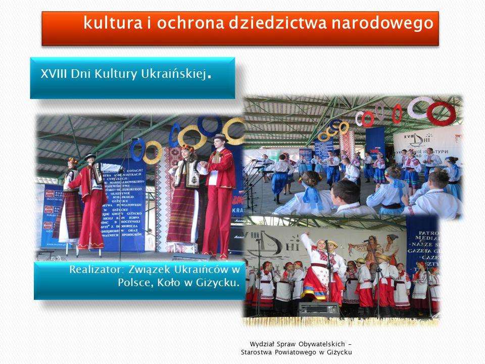 XVIII Dni Kultury Ukraińskiej.