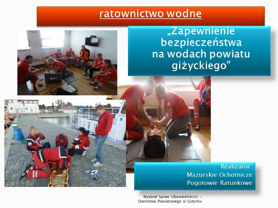 """Mazurska Fundacja Młodzieży Niepełnosprawnej """"Marzenia z siedzibą w Wydminach."""