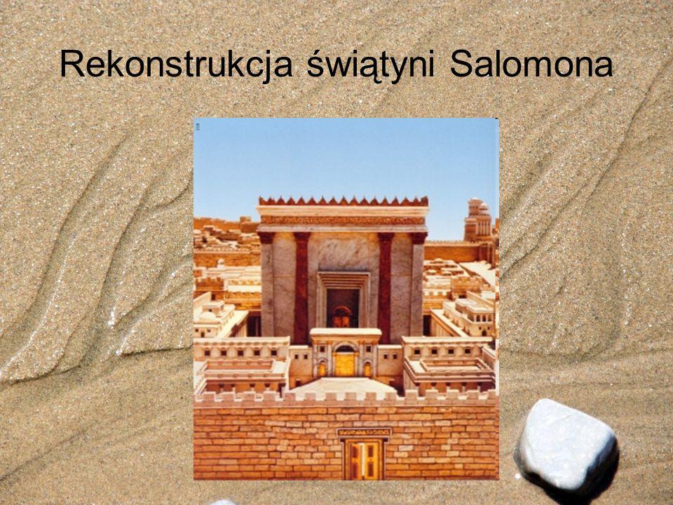 Rekonstrukcja świątyni Salomona