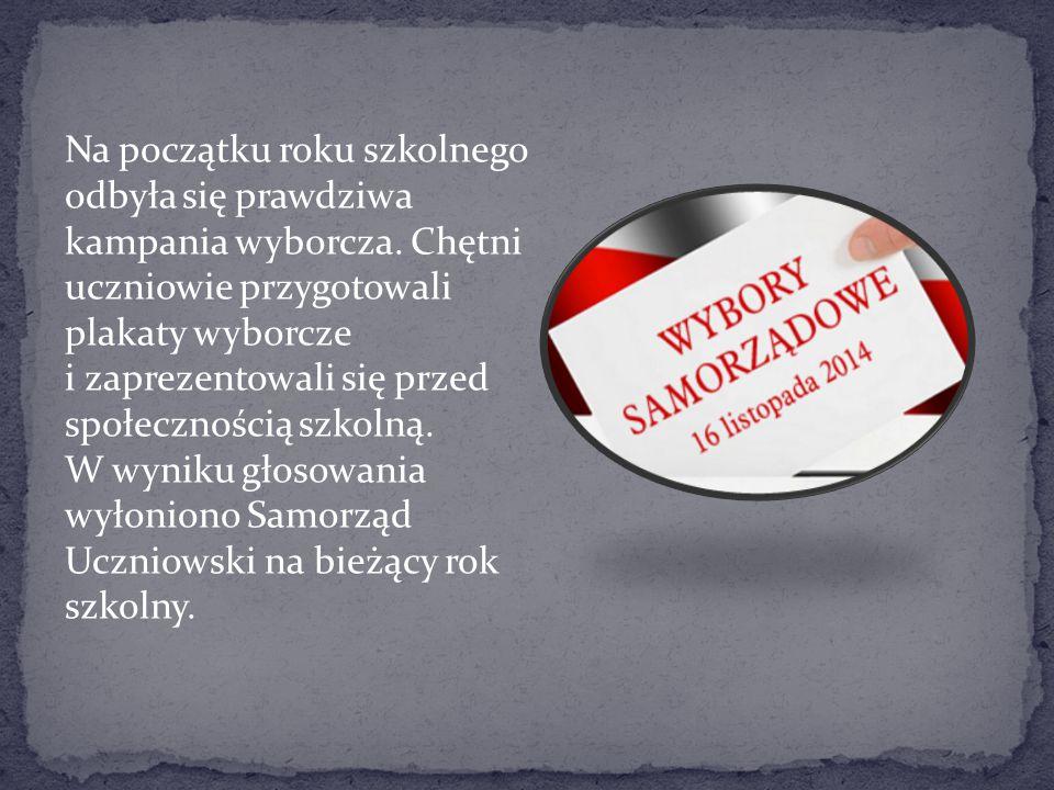 Przedstawicielki SU- Zosia, Maja i Ola, uczestniczyły w III Sejmiku Samorządów Uczniowskich.
