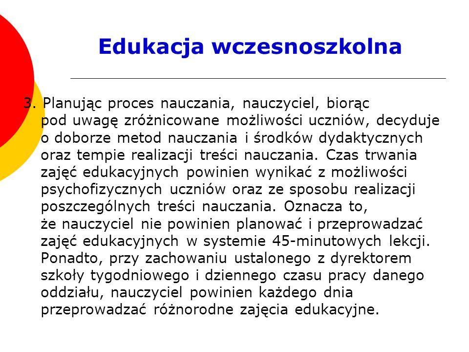 Edukacja wczesnoszkolna 3.