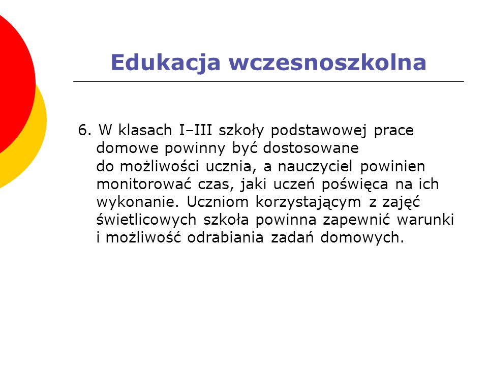 Edukacja wczesnoszkolna 6.
