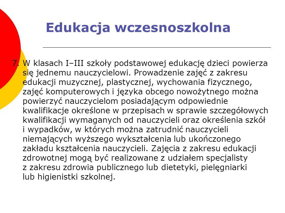 Edukacja wczesnoszkolna 7.