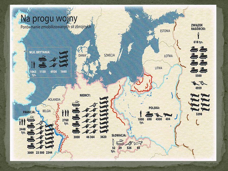 PolskaNiemcy - Nie dać się rozbić - Polski plan walki z Niemcami mógł opierać się jedynie na obronie.