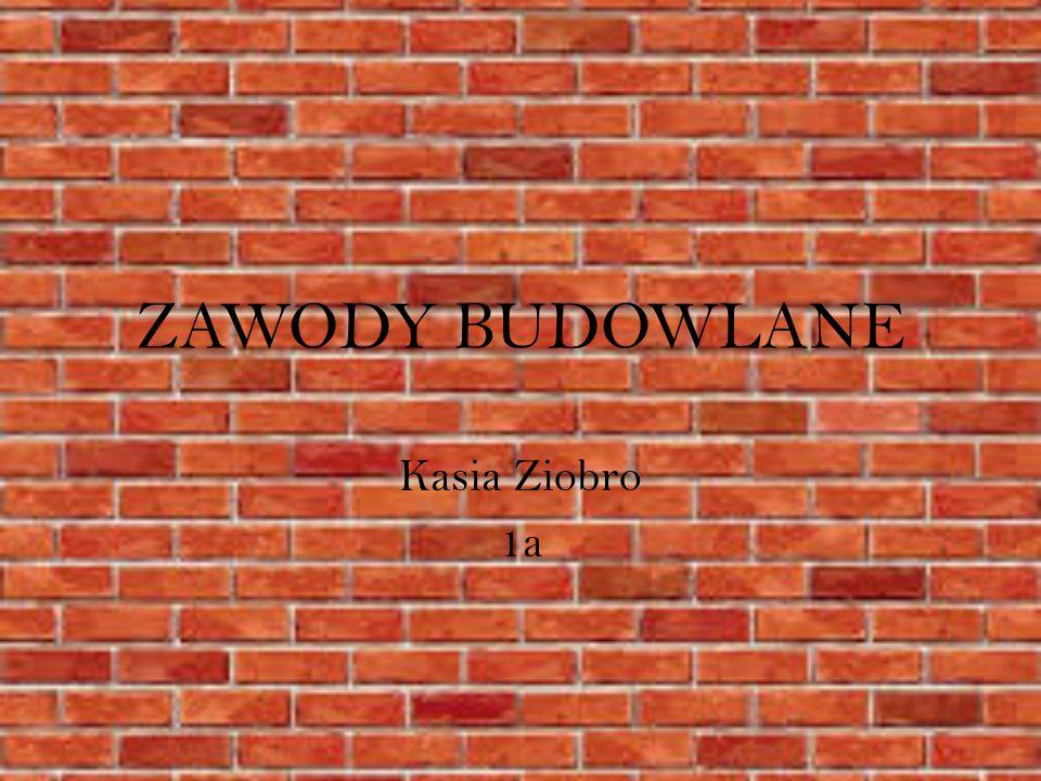 ZAWODY BUDOWLANE Kasia Ziobro 1a