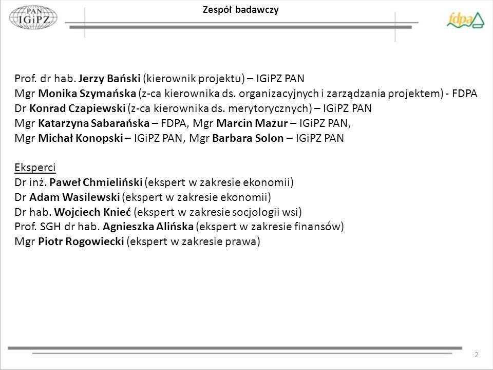 13 Charakterystyka badanych przedsiębiorstw Struktura wielkościowa przedsiębiorstw w badaniu kwestionariuszowym Struktura przedsiębiorstw w badaniu kwestionariuszowym wg przestrzennego zasięgu prowadzonej działalności