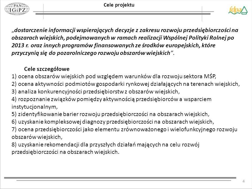 5 ZAKRES PRZESTRZENNY Obszar całej Polski ze szczególnym uwzględnieniem skali regionalnej.