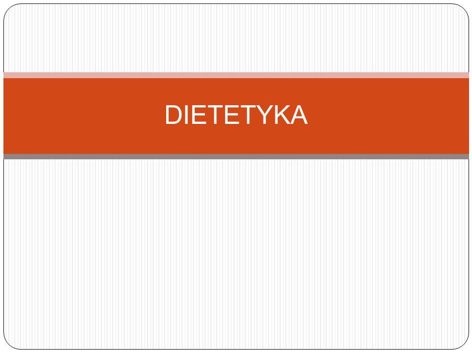 Czym zajmuje się dietetyka.