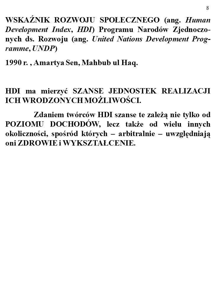 58 Studium to zostało napisane przez Bogusława Czarnego ze Szkoły Głównej Handlowej w Warszawie ----------------------------------------------------------------------------------------------------------- PIENIĄDZE SZCZĘŚCIA NIE DAJĄ (częśc I).