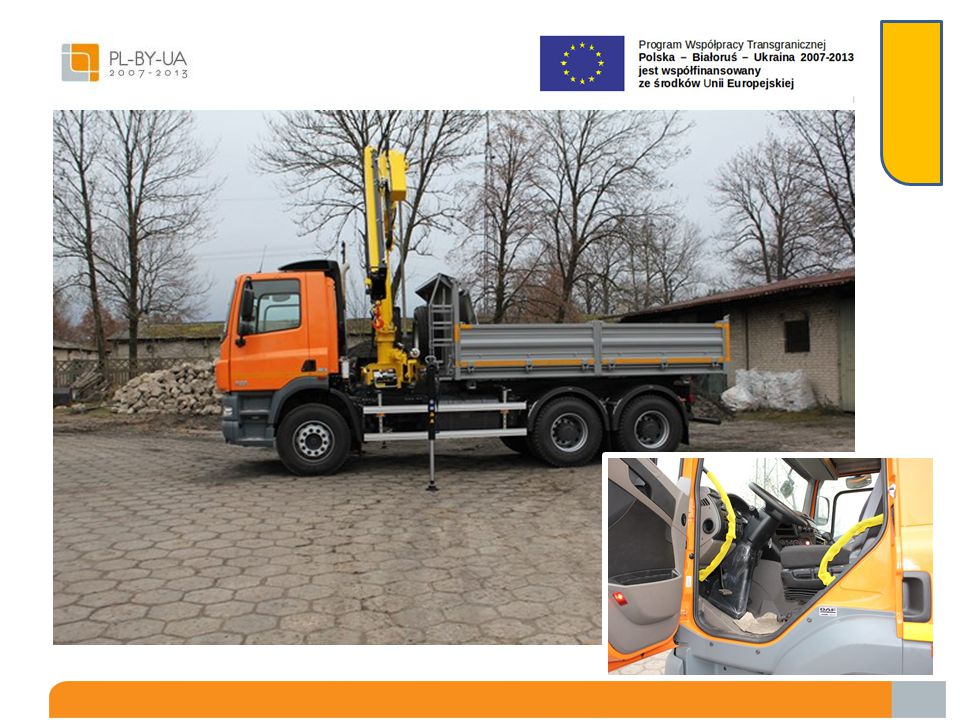 """""""Zakup i dostawa nowej ciężarówki samowyładowczej z HDS W wyniku ogłoszonego w dniu 04.09.2013r."""