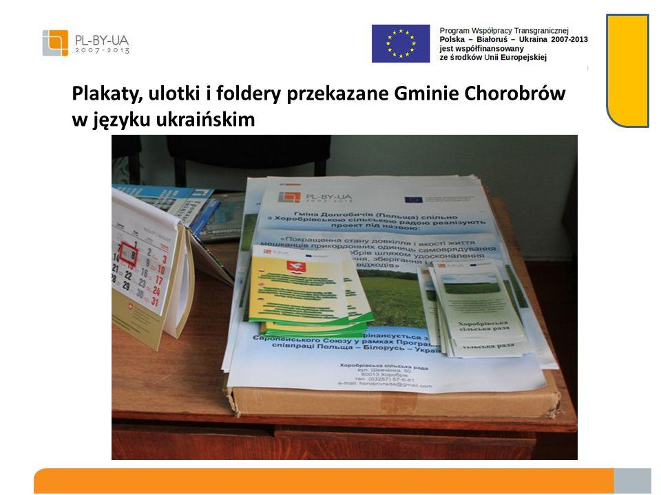 Folder został opracowany w języku polskim, angielskim i ukraińskim
