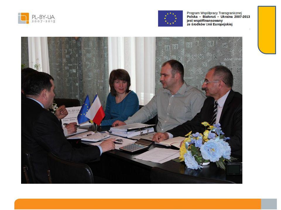 Spotkanie robocze w Sokalu w dniu 12.04.2013 roku z przedstawicielami Partnera Ukraińskiego z Gminy Chorobrów i władzami Rejonowej Rady Sokala W spotk