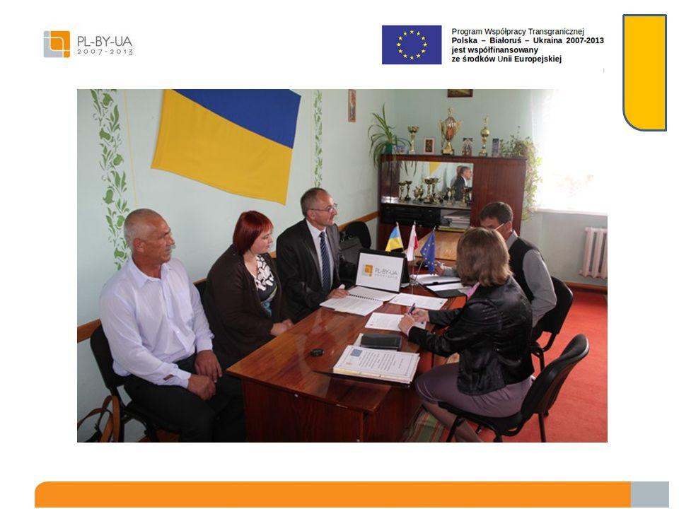 Gmina Dołhobyczów poinformowała partnera o złożeniu oficjalnej prośby odnośnie naniesienia zmian w umowie grantowej oraz przedstawiła projekt ulotek p